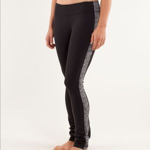 Lululemon Side Angle Pant Heathered Coal leggings